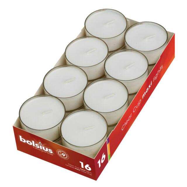 140 x 12 Stunden Teelichter von Gies,Gastroteelichter,weiß weiss,Teelicht,Gastro