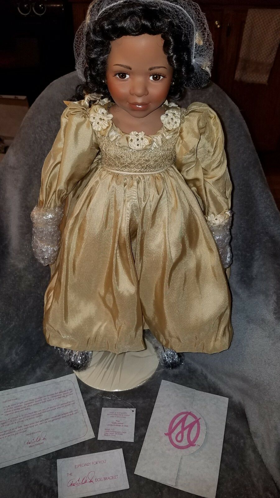 Marie Osmond's  RAE  23  Large Porcelain. Ltd Edtn 605 1500. NIB.