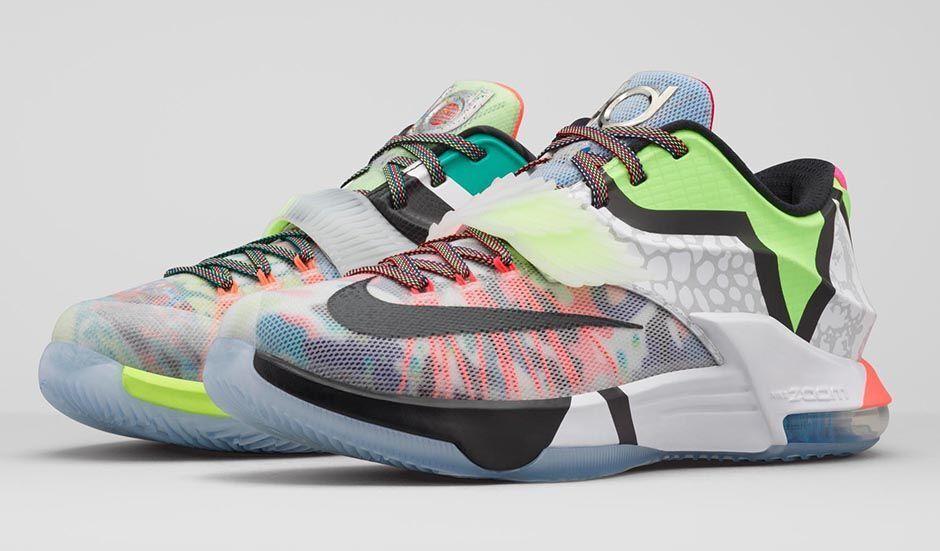 Nike KD 7 VII SE What The Size 11. 801778 944 jordan bhm aunt pearl