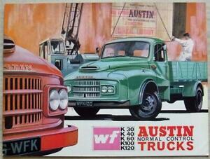AUSTIN WF NORMAL CONTROL TRUCKS Commercial Vehicle Sales Brochure c1965 #2221