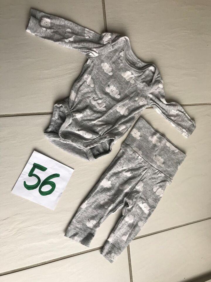 Sæt, Body og bukser - Sæt med skyer, H&M
