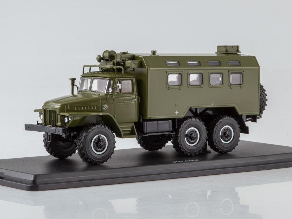 URAL 375 K-375 kung khaki SSM 1277 1 43