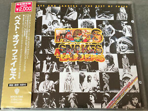 Faces - SNAKES AND LADDERS/THE BEST OF FACES - Japan CD - WPCR-1364 - OBI - NM!