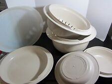 Tupperware Microwave Stack Cooker 3 QUART Lids 1 Cup Cooker 6 pcs ultra 21