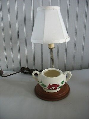 Vintage Blue Ridge China Kitchen Small Counter Lamp Made From Creamer Ebay
