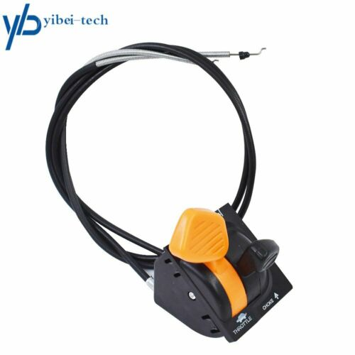 For JOHN DEERE AM140333 X 300 500 Series Throttle Choke Cable Control Assembly