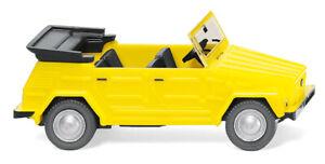 WIKING-004048-VW-181-Bucket-Car-Open-034-Canary-Yellow-034-Ho-1-87-New