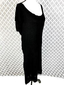 Woman\'s *ASHLEY STEWART* Black Sweater Like Casual Career Dress Plus ...