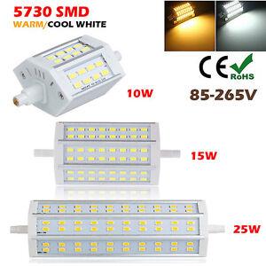 Dimmerabile r7s 10w 15w 25w 5730smd led spotlight for Lampada led r7s 118mm dimmerabile
