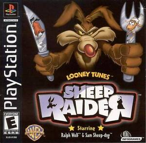 Looney-Tunes-Sheep-Raider-PS1-Great-Condition-Fast-Shipping