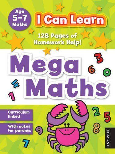 Mega Maths (I Can Learn),VARIOUS- 9781405258944