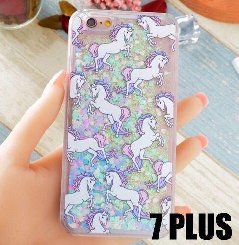 Glitter unicorn iPhone 6/7/8 case