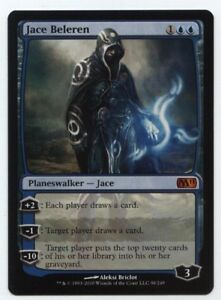 M11 Magic 2011 MTG NM//M Jace Beleren - Blue Planeswalker Mythic Rare