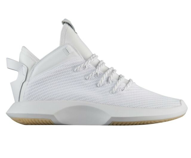 Buy adidas Crazy 1 ADV Primeknit Mens Ah2076 White Gold Basketball ... d6055ada34