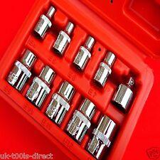 10pc E Star Sockets E4 - E14 Femail Torx