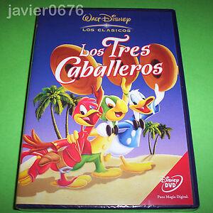 LOS-TRES-CABALLEROS-CLASICO-DISNEY-NUMERO-7-DVD-NUEVO-Y-PRECINTADO