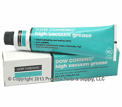 DOW CORNING HIGH VACUUM GREASE Industrial Laboratory Lab Stopcock Glassware 976V