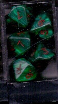 Ben Informato Set De 10 Des 10 Marbres Vert Vampire Le 1 Est Remplace Par Un Ankh