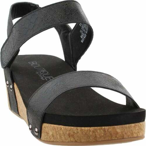 Womens Corkys Slidell  Casual   Wedges Black