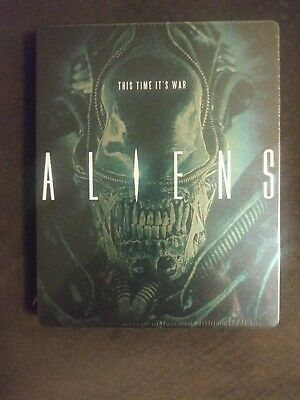 NEW- Aliens - 1986 Steelbook (Blu Ray, 2014) Original / 1991