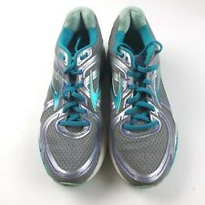 48460e8facd Brooks GTS 16 DNA Running Shoes Womens Size 10 Blue Lime Green Carpe ...