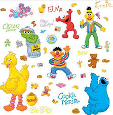 Item 7 Sesame Street Wall Stickers ELMO BIG BIRD COOKIE MONSTER BERT ERNIE  45 Decals  Sesame Street Wall Stickers ELMO BIG BIRD COOKIE MONSTER BERT  ERNIE 45 ...