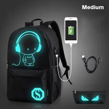 item 3 Night Luminous Backpack Boys Girls USB Charging Bookbag School Bag  Shoulder Bags -Night Luminous Backpack Boys Girls USB Charging Bookbag  School Bag ... 7bfb072ec1