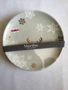 image is loading martha stewart winter white stag salad plates set - Christmas Salads Martha Stewart