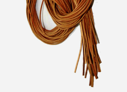 """1//8/"""" x 72/"""" TAN BULK Leather lace for neck lace /& Boots /& Shoes GREAT PRICE! 30"""