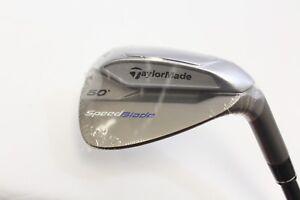 New-RH-TaylorMade-SpeedBlade-GW-50-Gap-Wedge-Graphite-65g-Regular-Flex