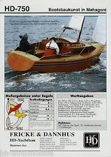 Sonderdruck Yacht Test Fricke & Dannhus HD-750 Mahagoni 2006 Kielschwertboot
