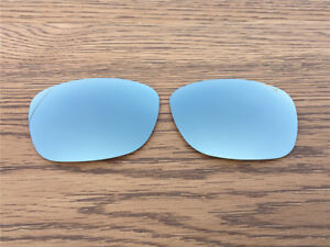 1d50f32f15 Image is loading New-Silver-Titanium-Polarized-Replacement-lenses-for-Oakley -