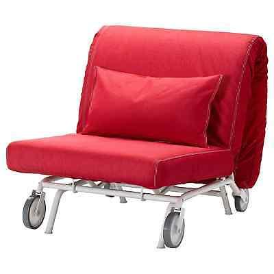 Für Gästebett Ikea Vansta 19 101 Ps ErsatzbezugEbay Bezug Bettsessel 848 Sessel Rot RL35q4Aj