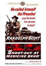 SHOOT-OUT AT MEDICINE BEND (1965 Randolph Scott)  Region Free DVD - Sealed