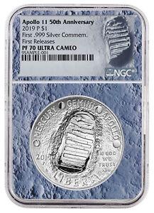 2019-Apollo-11-50th-Commem-Silver-Dollar-NGC-PF70-FR-Moon-Core-SKU56542