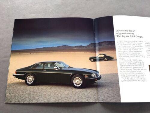 XJ6 XJS Vandan Plas XJ-SC 1989 Jaguar Cars 16-page Sales Brochure Catalog