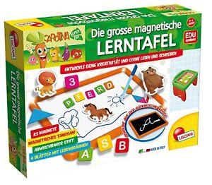 Lisciani-Die-grosse-magnetische-Lerntafel-Kreeidetafel-Spieltafel-Lernen