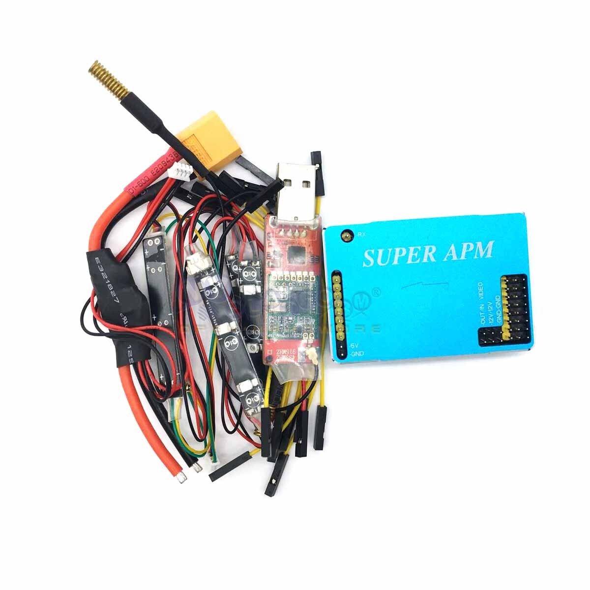 915Mhz SUPER  APM volo Controller Autopilot integrated OSD Telemetry Sensor  grandi risparmi
