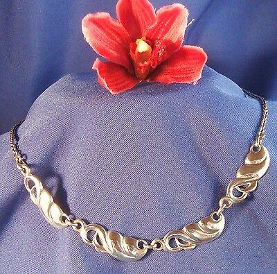 Collier Kette Aus 835 Silber Collierkette Halskette Halsschmuck / Art. Y 510 Hell In Farbe