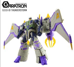 Transformers GARATRON Modeling GOD-01 Thunderstrom Thunder Wing King