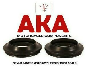 Pair of Fork Dust Seals for Aprilia RS125 1992 - 2005