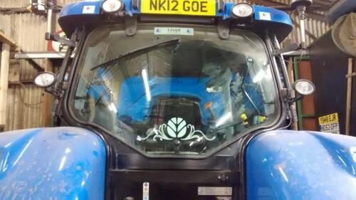 Rear Window Swirl New Holland Fendt Case Massey John Deere Claas Tractor Decal