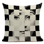 thumbnail 23 - Fornasetti Style Pillow Case Cover Sofa Home Textile Vintage Cushion Linen Decor