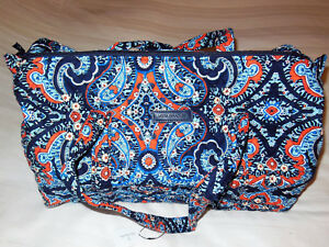 NWT Vera Bradley SMALL DUFFEL Travel Bag in MARRAKESH Carry–on 15827 ... 27e1928896222