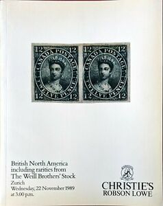Auction-Catalogue-BRITISH-NORTH-AMERICA-with-Rarities-from-the-Weill-Brothers