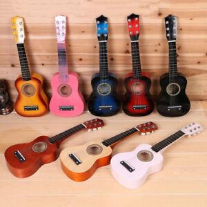 21-034-Kids-Acoustic-Guitar-Wooden-Beginners-6-String-Children-Toys-Gift-Practice