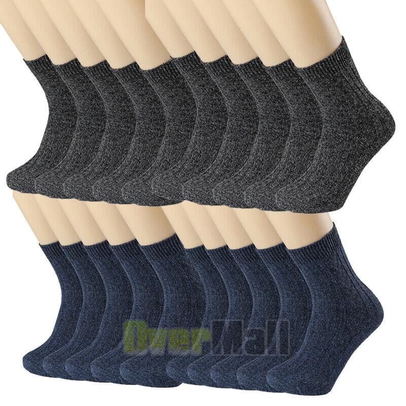 1-6 Pair Winter Socks Cosy Socks Wool Socks Warm Thermal Socks Ladies Mens