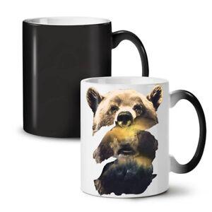 Bear Beast Wild Animal NEW Colour Changing Tea Coffee Mug 11 oz | Wellcoda