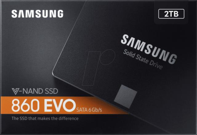 New (OPEN BOX) Samsung 860 EVO SATA III 2.5