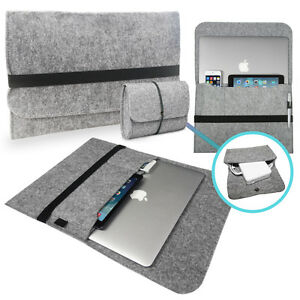Felt-Sleeve-Bag-with-Cover-CHARGER-Case-for-Apple-MacBook-Pro-Retina-amp-Air